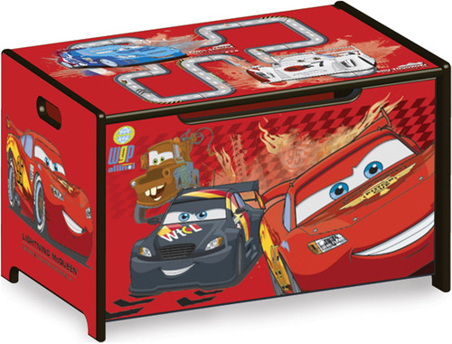 delta kids spielzeugkiste aus holz disney cars. Black Bedroom Furniture Sets. Home Design Ideas