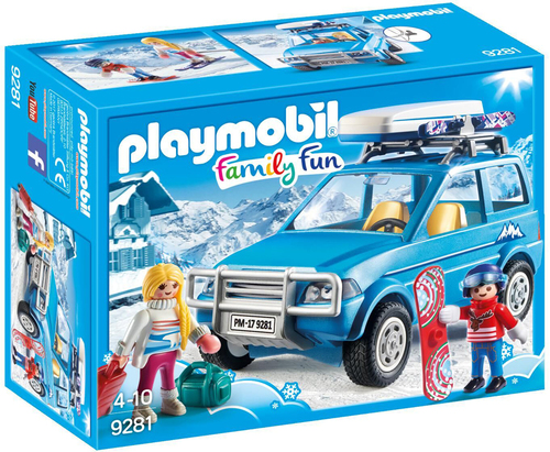 playmobil playmobil 9281 auto mit dachbox playmobil. Black Bedroom Furniture Sets. Home Design Ideas