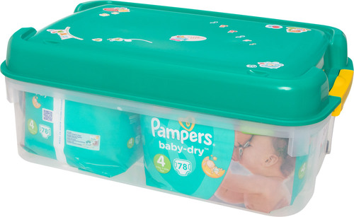 pampers vorteilsbox baby dry gr 4 babywindeln jetzt. Black Bedroom Furniture Sets. Home Design Ideas