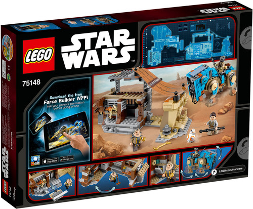 lego star wars 75148 encounter on jakku lego jetzt online kaufen. Black Bedroom Furniture Sets. Home Design Ideas