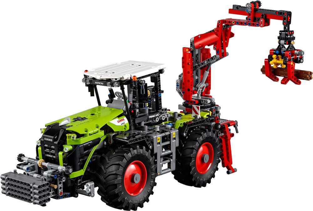 lego technic 42054 claas xerion 5000 trac vc lego jetzt online kaufen. Black Bedroom Furniture Sets. Home Design Ideas