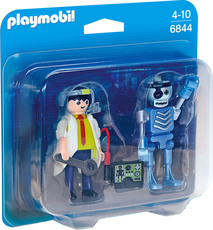 PLAYMOBIL®  Duo Packs - 6844 - Duo Pack Professor und Roboter