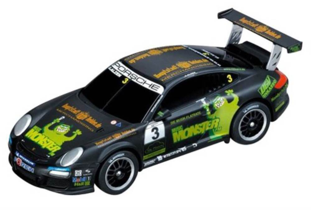 carrera go porsche gt3 cup monster fm u alzen. Black Bedroom Furniture Sets. Home Design Ideas