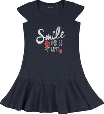 Blue Seven Shirtkleid Smile