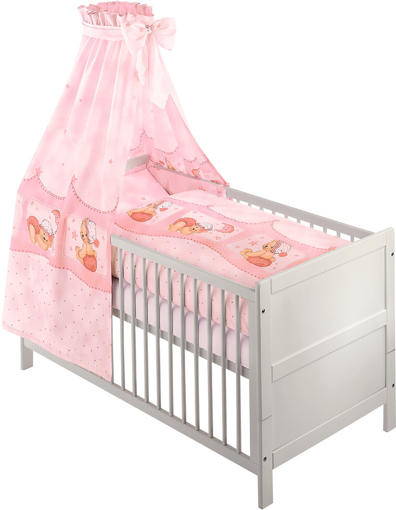 julius z llner bett set kuschelb r baby bettw sche set jetzt online kaufen. Black Bedroom Furniture Sets. Home Design Ideas