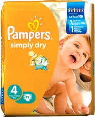 Pampers Simply Dry