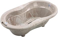 Rotho Babydesign Natural Stone Look Badewanne
