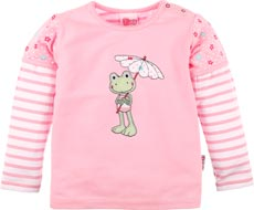 ELTERN by Salt and Pepper Langarmshirt Frosch