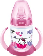 NUK First Choice Trinkflernflasche Hello Kitty