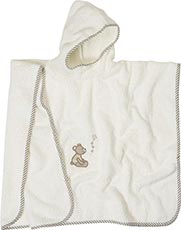 Playshoes Frottee-Poncho mit Applikation