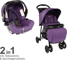 GRACO Mirage + TS W. Parent Tray and Boot