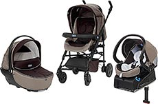 Chicco Kinderwagenset Trio-System Living Smart Isofix