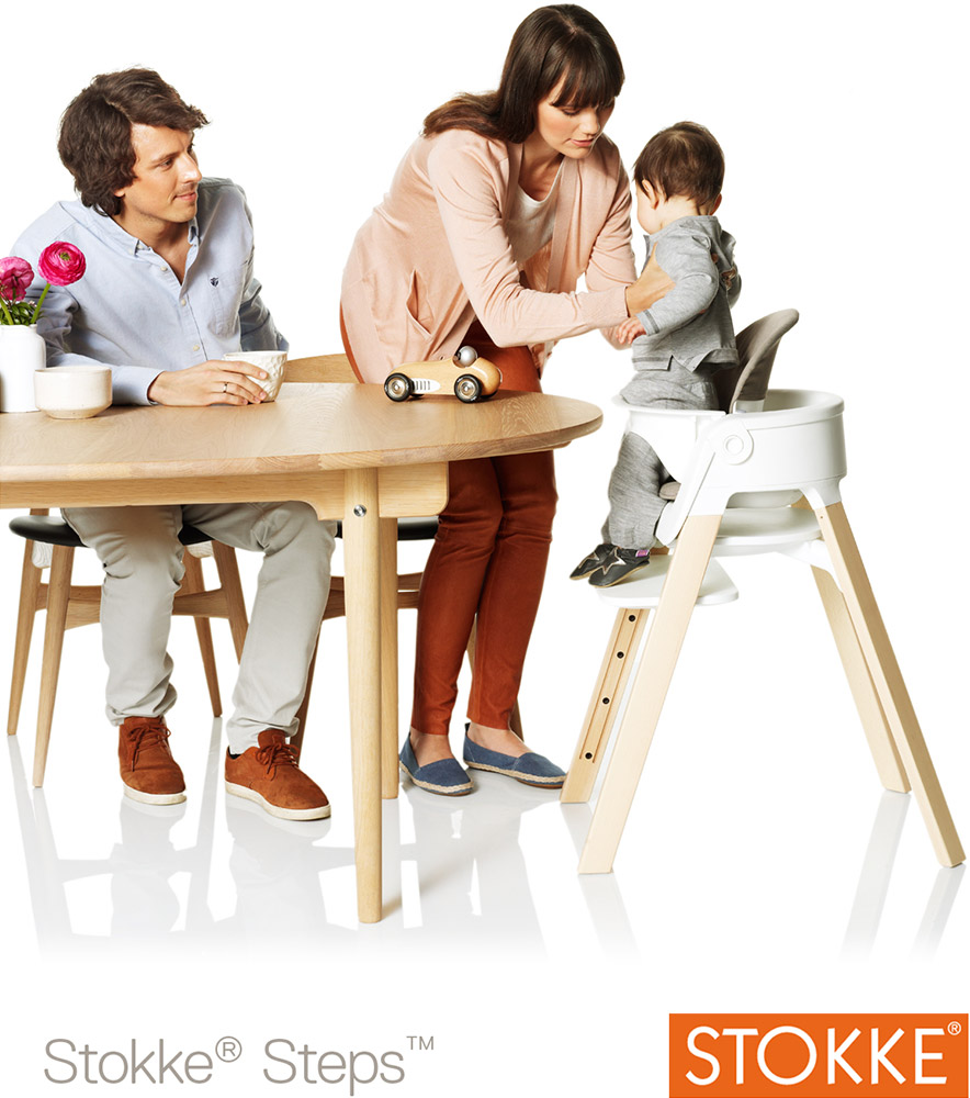 stokke steps chair treppenhochstuhl jetzt online kaufen. Black Bedroom Furniture Sets. Home Design Ideas