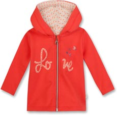 Eat Ants by Sanetta Sweatjacke mit Kapuze - Love