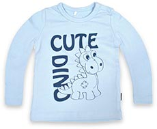 name it Langarmshirt Cute Dino Lorenz