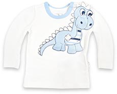 name it Langarmshirt mit Dino-Applikation Larry