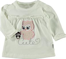 name it Langarmshirt Eule cute
