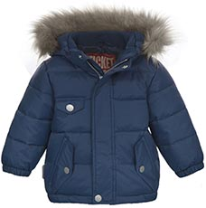 Ticket OUTDOOR Winterjacke mit Fellkapuze Alex
