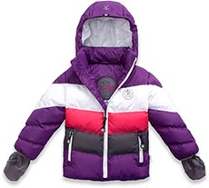B' REP by XS EXES Outdoor Winterjacke dark lilac