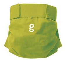 gDiapers gPants Guppy Green