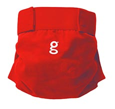gDiapers gPants Good Fortune Red