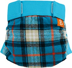 gDiapers gPants - Glacier Mountain Flannel
