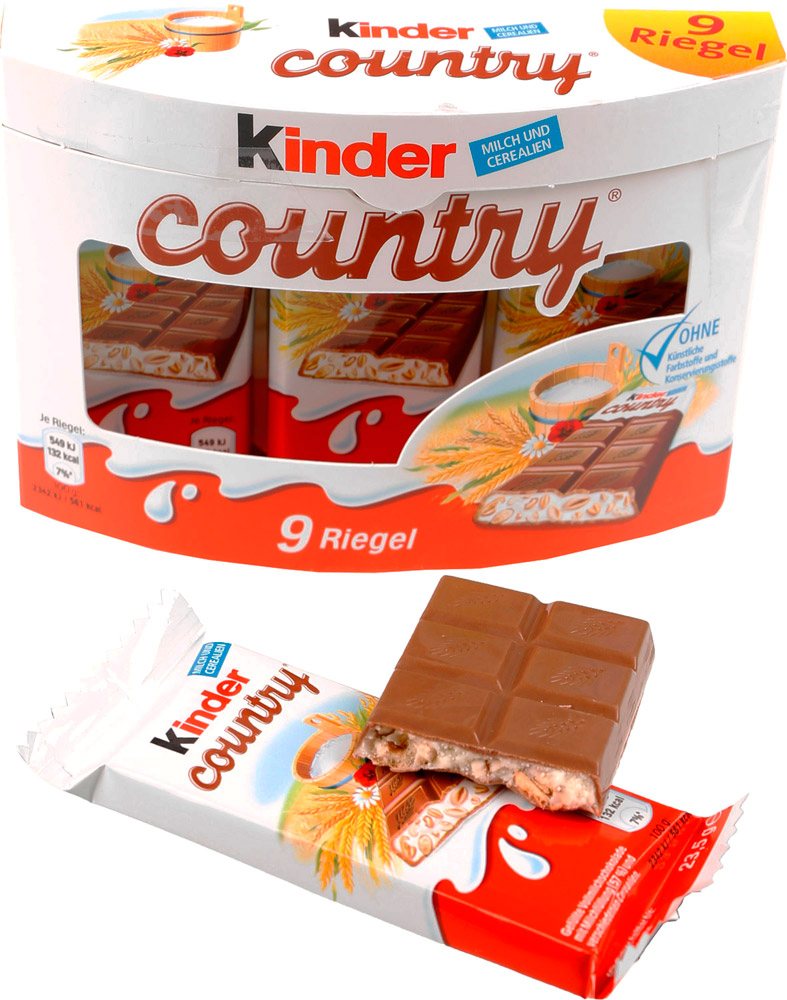 kinder Country kinder Country