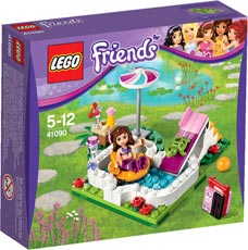 LEGO® Friends 41090 - Olivias Gartenpool
