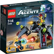 LEGO® Ultra Agents 70166 - Spyclops-Infiltration