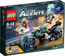 LEGO® Ultra Agents 70167 - Invizable's Goldraub