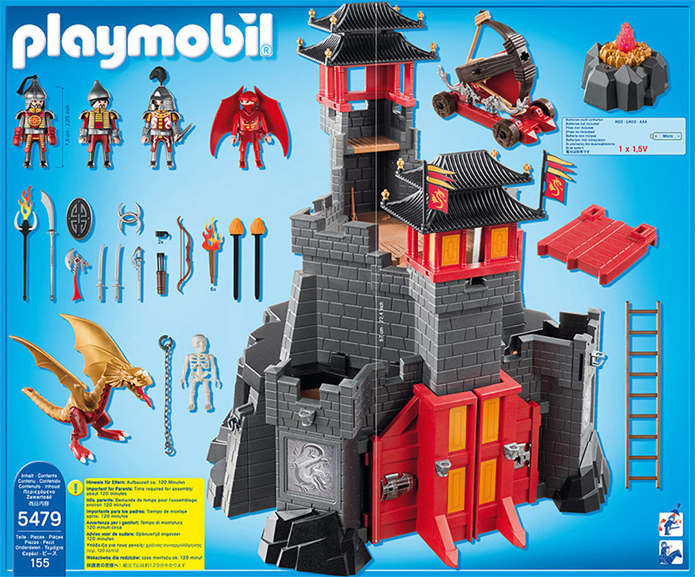 5480 Playmobil Playmobil 5480 Dragon S Secret Fortress