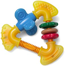 infantino Chewy teether rattle