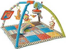 infantino deluxe twist & fold gym & play mat
