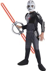 Rubie's Kostüm Star Wars Rebels The Inquisitor Deluxe